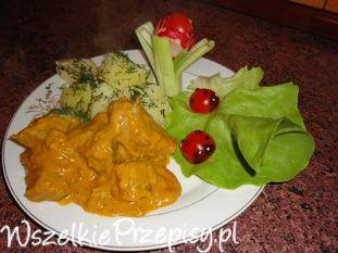 Polędwiczki wieprzowe w curry