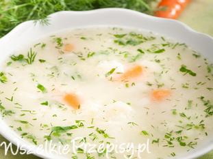 Zupa kalafiorowa z jajkiem