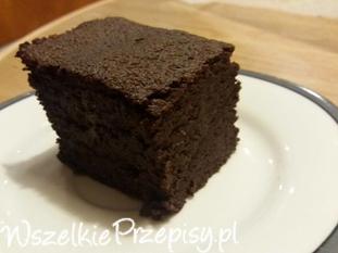 Bezglutenowe brownie.