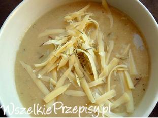 Zupa krem z fasoli i cebuli