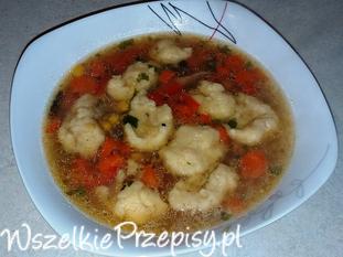 Zupa z kaczki z soczewicą