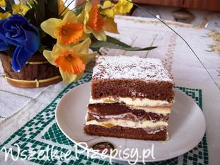 Ciasto słodkie fale