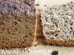 Migdałowy chleb razowy z daktylami