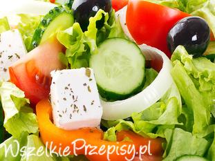 Dietetyczna sałatka grecka