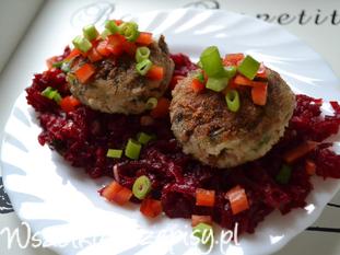 Kotlety z kaszą gryczaną i mielonym mięsem