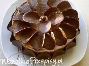 Torcik czekoladowo-kawowy