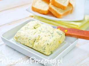 Masło czosnkowe z koperkiem