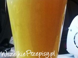Grzane piwo z żółtkiem