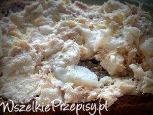 Pasta jajeczna z makrelą wędzoną