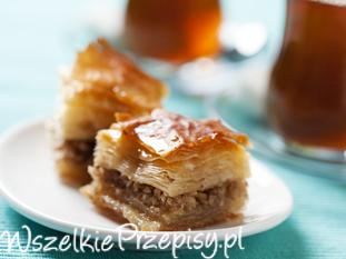 Baklawa - turecki deser z ciasta filo