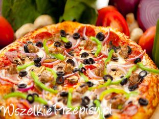 Pizza - podstawowy przepis na ciasto