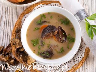 Zupa grzybowa z borowików