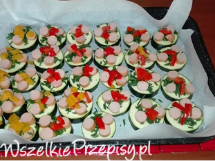 Mini pizze z cukinii