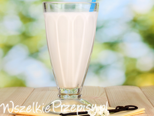 Waniliowe mleko roślinne
