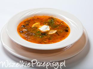 Solianka czyli rosyjska zupa