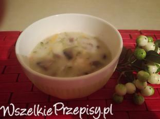 Ogórkowa Zupa w innej wersji