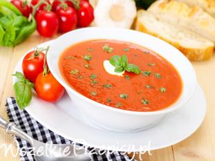 Zupa pomidorowa - krem z pomidorów