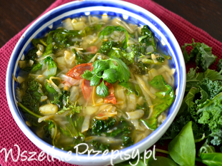 Caldo Verde - zielona zupa od Kuronia