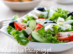 Sałatka grecka - jak zrobić