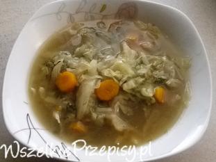 Parzybroda - zupa z młodej kapusty