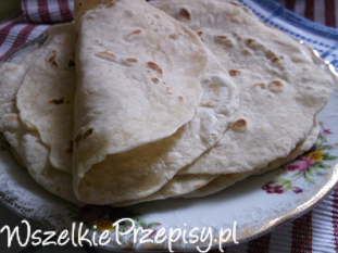 Domowe placki tortilla.