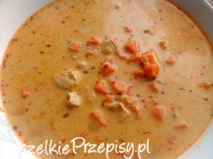 Meksykańska zupa batatowa