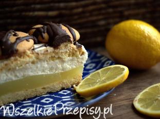 Ciasto z masą cytrynowa i masą mascarpone