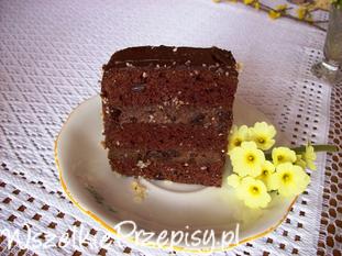 Ciasto czekoladowe ze śliwkami