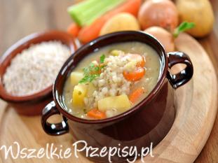 Tradycyjny polski krupnik