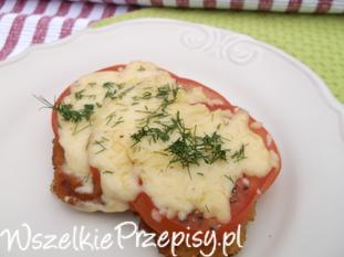 Filet z kurczaka pod pomidorowo-serową pierzynką