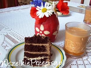 Zwijany torcik czekoladowy