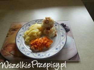Filet z kurczaka pod marchewkowa pierzynką