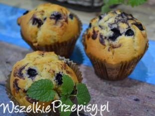 Muffinki z jagodą