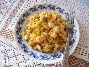 Rizotto mięsno- warzywne