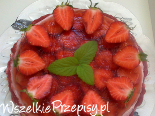 Truskawkowy deser
